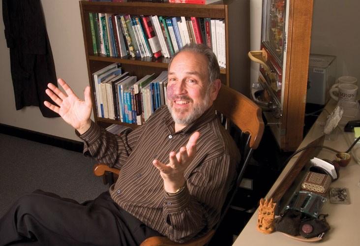 MIT Professor Larry Susskind. Image: Ed Quinn