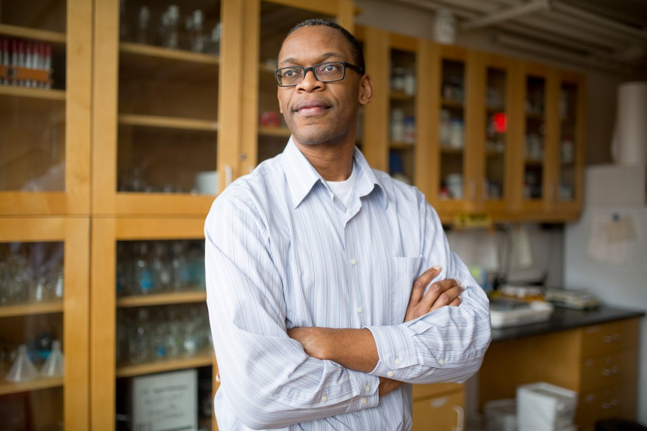 Jacquin Niles '94, PhD '01. Photo: Bryce Vickmark