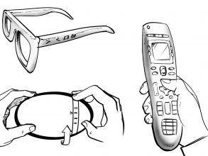 Yang's Ideation Lab used a collection of 18 designers' concepts for a remote control, resketched by a single artist, for experiments on user feedback in early stage design. Images: Courtesy of the researchers
