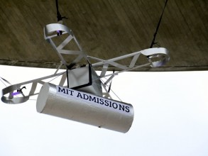 MIT Admissions drone. Image: MIT Admissions