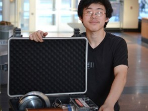 Co-founder Bayley Wang '14. Image: courtesy of oneTesla