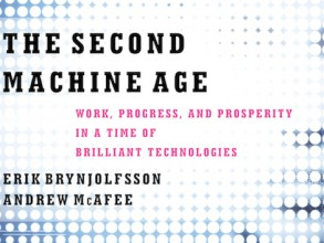 'The Second Machine Age: Work, Progress, and Prosperity in a Time of Brilliant Technologies' by Erik Brynjolfsson and Andrew McAfee. Image: W.W. Norton