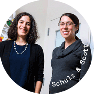 photo of laura schulz and kim scott phd '18