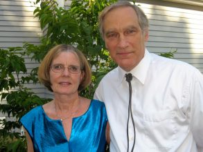 Jeanne-Marie and David '69 Brookfield. Photo: Courtesy of the donors